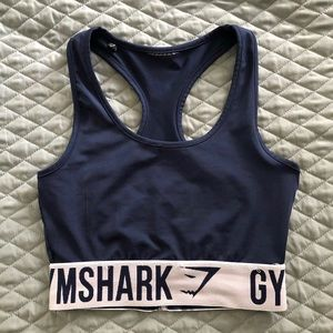 Gymshark sports bra, size xs, swipe to see flaws